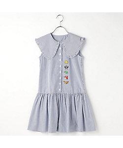 COMME CA FILLE(Baby&Kids)/コムサ・フィユ 〔140cm~〕つなごうよ フリル ドレス(0526RT10G)