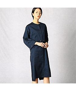 ARTISAN(Women)/アルチザン ストレッチタフタシャツドレス(0805HT01)
