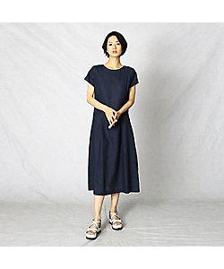 ARTISAN(Women)/アルチザン リネンマキシ ドレス(0813OT07)