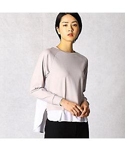 ARTISAN(Women)/アルチザン シャツ地コンビ プルオーバー(0820ET04)