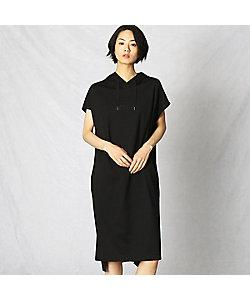 ARTISAN(Women)/アルチザン ロゴ入りフード付き ドレス(0820OT06)