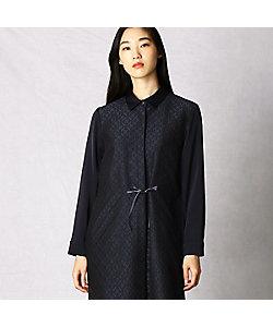 ARTISAN PERFECT FIT(Women)/アルチザン パーフェクトフィット ふくれジャガードシャツドレス(0862OP01)