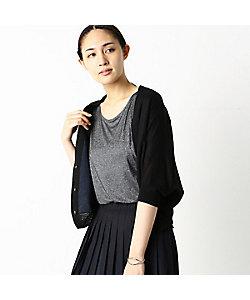 COMME CA(Women)/コムサ ショート丈 リネン カーディガン(1020IT10)