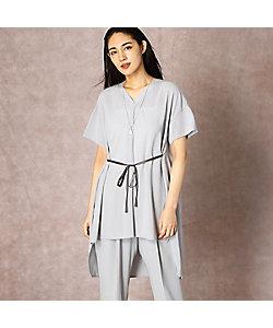COMME CA(Women)/コムサ 【吸水速乾 接触冷感】デザインチュニックドレス(1502OR02)