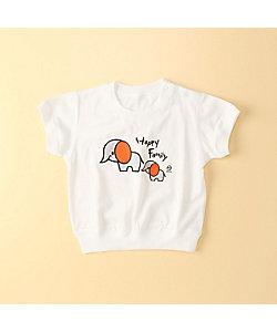 COMME CA FOSSETTE(Baby&Kids)/コムサ・フォセット ハッピーファミリー半袖Tシャツ(2021TT01)