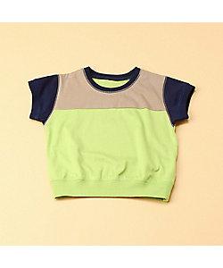 COMME CA FOSSETTE(Baby&Kids)/コムサ・フォセット 配色3本針Tシャツ(2021TT21)