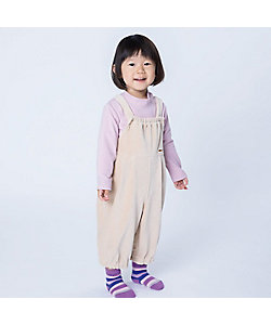 COMME CA FOSSETTE(Baby&Kids)/コムサ・フォセット コ―デュロイジャージ ロンパース(2025FR03)