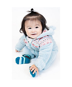 COMME CA FOSSETTE(Baby&Kids)/コムサ・フォセット 雪柄ジャカード おくるみ(2051MR02)