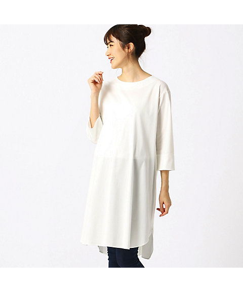 993a3d945f133 <COMME CA BLANC DOEUF コムサ・ブロンドオフ(マタニティ)> Tシャツドレス(2232OL08) 01  三越・伊勢丹 公式   シンプルで上品なTシャツドレスです。