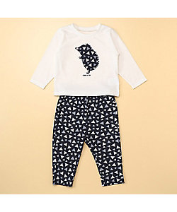 COMME CA ISM (Baby&Kids)/コムサイズム (ベビー&キッズ) 長袖Tシャツとロングパンツが入ったギフトセット(80・90サイズ)(2383WN04)