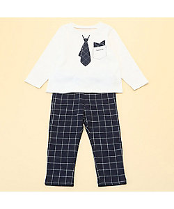 COMME CA ISM (Baby&Kids)/コムサイズム (ベビー&キッズ) 長袖Tシャツと10分丈パンツが入った ギフトセット(80・90サイズ)(2383WT02)