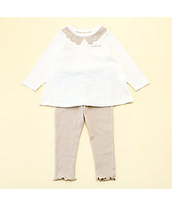 COMME CA ISM (Baby&Kids)/コムサイズム (ベビー&キッズ) 長袖チュニックと10分丈レギンスが入った ギフトセット(80・90サイズ)(2383WT03)
