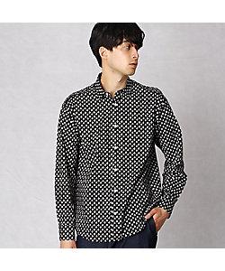 β MEN(Men)/ベータ・メン ヨットハーバープリント エポレット付きシャツ(2704IT01)