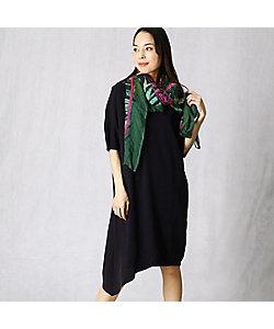 BASILE28(Women)/バジーレヴェントット インナードレス付ニットドレス(2803IP06)