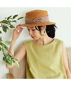 COMME CA ISM(Women)/コムサ イズム 【一部店舗限定】 リボン カンカン帽(5285RT70)