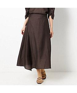 COMME CA Sサイズ(Women)/コムサ エスサイズ 〔Sサイズ〕【セットアップ対応】ヴィンテージライク アシンメトリースカート(5404FT06)