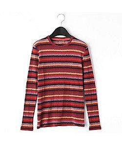 GABARDINE K.T(Women)/ギャバジンケーティー カラフル 長袖 Tシャツ(7221EP04)