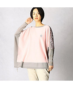 β(Women)/ベータ いちご柄プリント使いセーター(7797IT07)