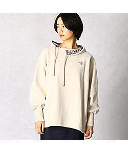 β(Women)/ベータ パシフィック裏毛フード付プルオーバー(7797TT14)