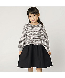 COMME CA ISM (Baby&Kids)/コムサイズム (ベビー&キッズ) フェアアイルワンピース(9849OR05)