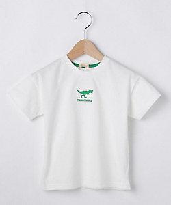コットン100%恐竜刺しゅうTシャツ(2001620716)