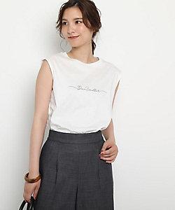 REFLECT(Women)/リフレクト 【接触冷感/UVカット/洗える】ノースリーブロゴTシャツ(2001626464)