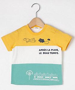 乗り物切り替えTシャツ(2001626968)