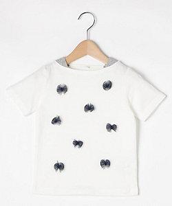 天竺チュールリボンTシャツ(2001626980)