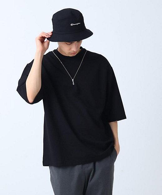 <tk. TAKEO KIKUCHI(Men)/ティーケー タケオキクチ> ネックレスデザインTシャツ クロ【三越伊勢丹/公式】
