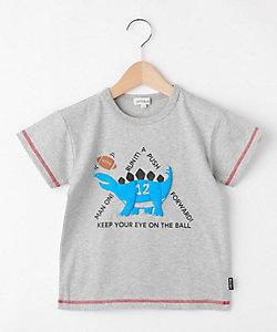 恐竜スポーツプリントTシャツ(2001632780)