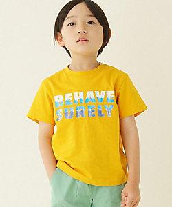 THE SHOP TK (Baby&Kids)/ザ ショップ ティーケー (キッズ) タイダイロゴプリントTシャツ(2001643848)