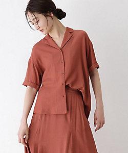 [洗える]半袖開襟シャツ(2001691592)