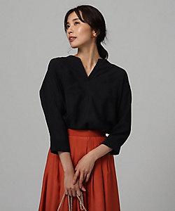 UNTITLED(Women)/アンタイトル ボイルキーネックシャツ(2001708141)