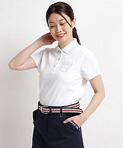 異素材ドッキング半袖ポロシャツ(2001715168)