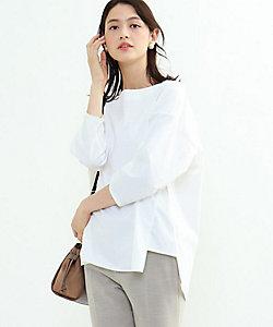 INDIVI S(Women)/インディヴィS [S]【ハンドウォッシュ】ボディシェルブロードシャツ(2001749650)