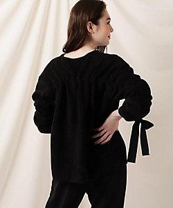 COUTURE BROOCH(Women)/クチュールブローチ ボアシャーリングリボンプルオーバー(2001765469)