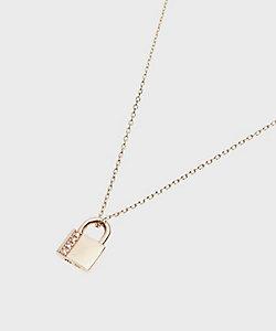 COCOSHNIK(Women)/ココシュニック ダイヤモンド パドロックモチーフ ネックレス(2001774067)