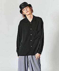tk. TAKEO KIKUCHI(Men)/ティーケー タケオキクチ ドルマンオープンビッグシャツ(2001780947)