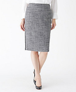 MODIFY(Women)/モディファイ サイドラインツイードタイトスカート(2001786415)