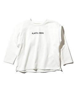 THE SHOP TK (Baby&Kids)/ザ ショップ ティーケー (キッズ) 【150・160cm】レイヤードフォトロングTシャツ(2001787983)