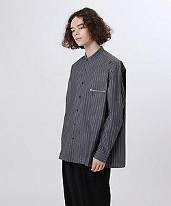 tk. TAKEO KIKUCHI(Men)/ティーケー タケオキクチ ジップポケットストライプシャツ(2001832443)