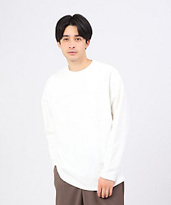 tk. TAKEO KIKUCHI(Men)/ティーケー タケオキクチ ミニ裏毛フットボールプルオーバー(2001832870)