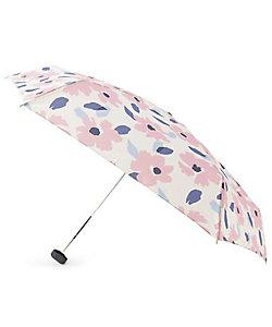 GROVE(Women)/グローブ because フラワーミニ折りたたみ傘(晴雨兼用)(2001834698)