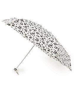 GROVE(Women)/グローブ becauseフラワーシルエットミニ折りたたみ傘(晴雨兼用)(2001834701)