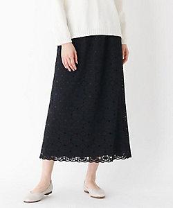 MODIFY(Women)/モディファイ フラワーレーススカラカットスカート(2001838578)
