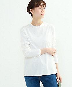 INDIVI S(Women)/インディヴィS 「S」スムースロングスリーブTシャツ(2001839864)
