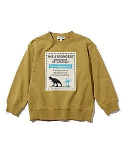 SHOO・LA・RUE (Baby&Kids)/シューラルー 【90-130cm】ミニ裏毛スクエア恐竜プルオーバー(2001840724)