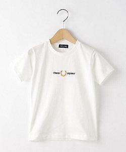DESSIN(Baby&Kids)/デッサン (キッズ) FRED PERRY ロゴ刺しゅうクルーネックTシャツ(2001842653)