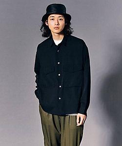 tk. TAKEO KIKUCHI(Men)/ティーケー タケオキクチ 【WEB限定】ナメラカCPOシャツ(2001842728)
