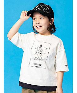 SHOO・LA・RUE (Baby&Kids)/シューラルー 【マークゴンザレス】レイヤード五分袖T(2001846429)